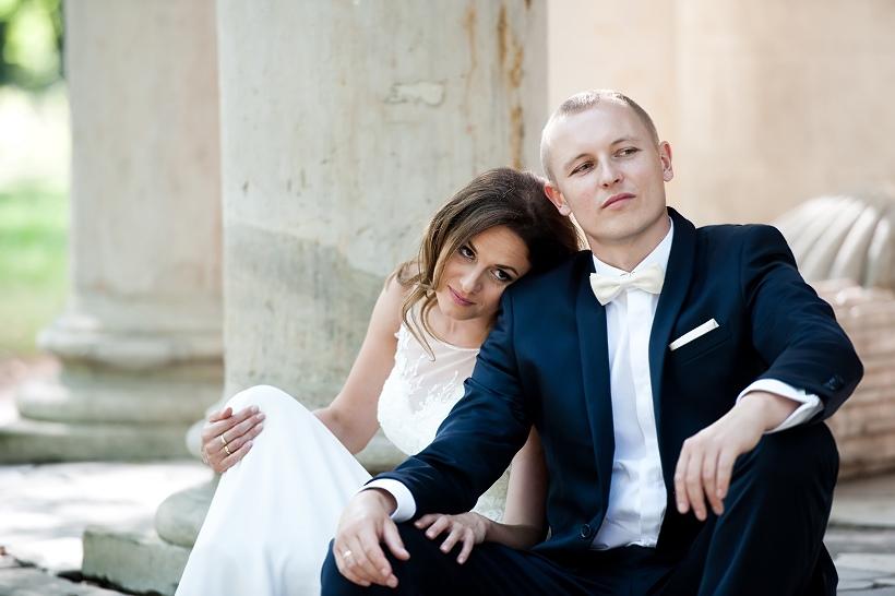 ślub Łódź kolumna park