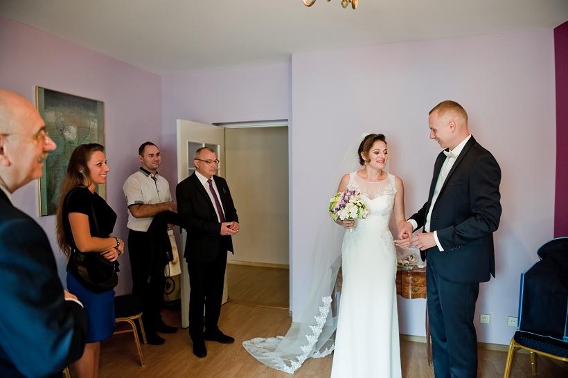 ślub fotograf Łódź czarny staw