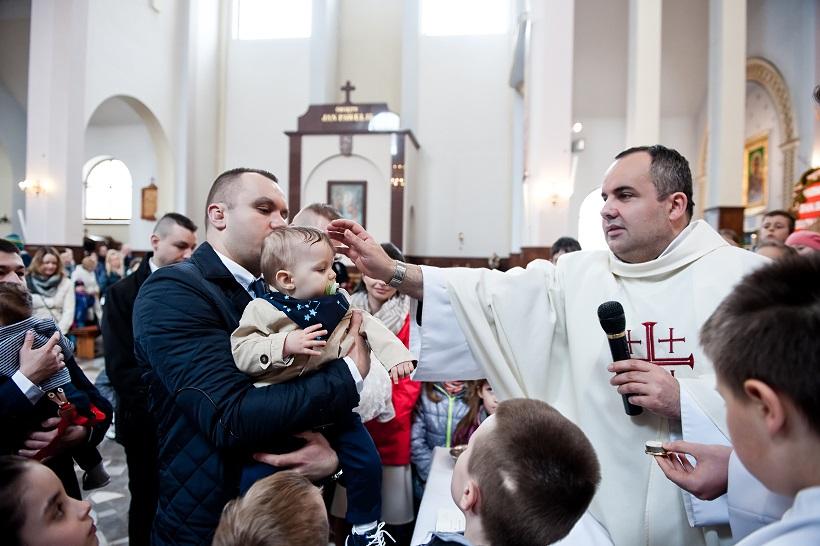 chrzest Pabianice fotografia