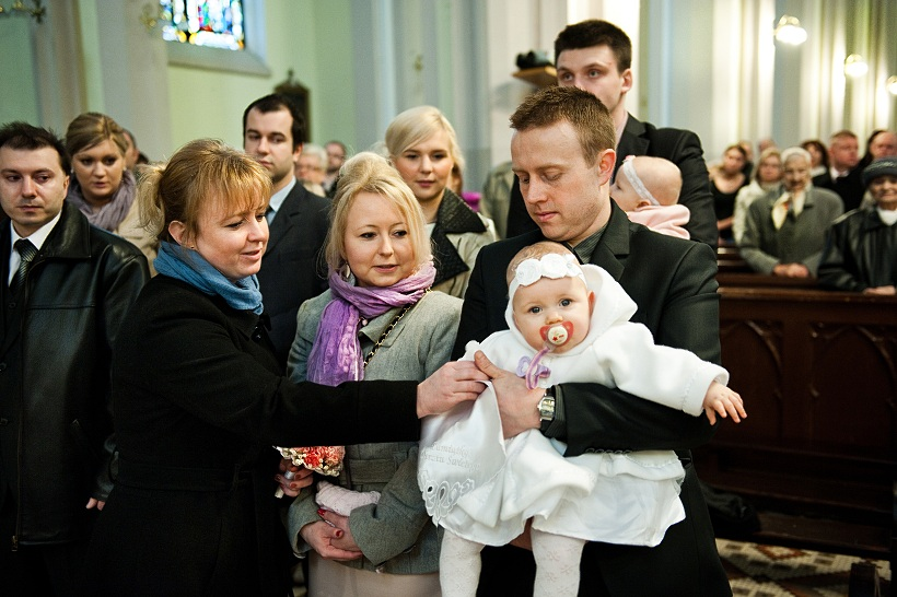chrzest Łódź
